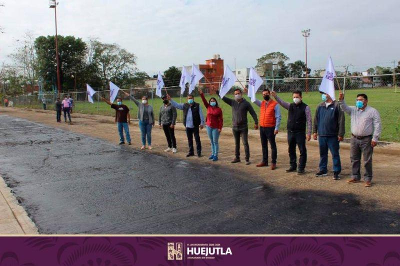 PRESIDENTE Y DIPUTADO ARRANCAN OBRA FEDERAL EN PARQUE DE POBLAMIENTO