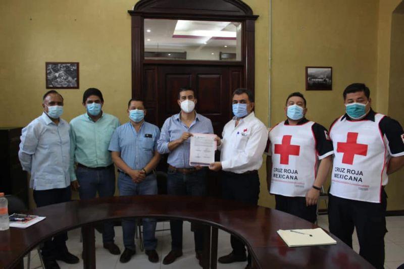 Convenio de Colaboración con Bomberos y Cruz Roja